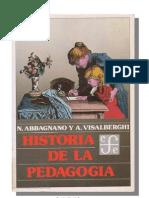 Abbagnano N Visalberghi a La Historia de La Pedagogia