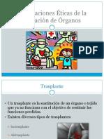 Implicaciones Éticas de Donación de Órganos