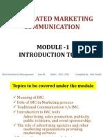 Module I IMC Slides Ver 2.1