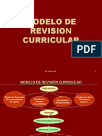 MODELO DE REVISIÒN CURRICULAR