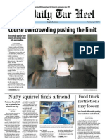 The Daily Tar heel for August 28, 2012
