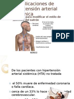 Hipertensión arterial sistemática para pacientes geriatricos