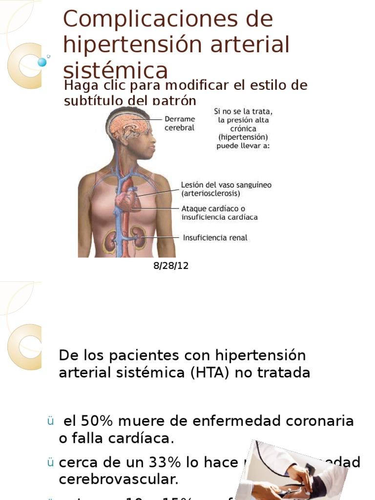 Presión arterial sistémica vs presión arterial