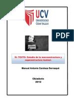 El Texto_ Estudio de La Macro y Superestructura_2012_I