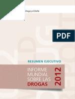 Informe Mundial Sobre Drogas - 2012