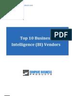 Top10 BI Vendors Review