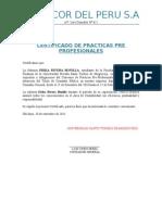 Certificado de Practicas Profesionales A