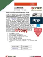 Consumible original para impresora Kyocera Document Solutions FS-9130DN
