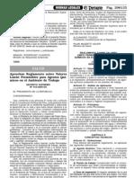 D.S N° 015-2005-SA LMP AGENTES QUIMICOS AMBIENTE TRABAJO (1)