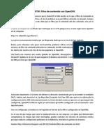 MIKROTIK Filtro de Contenido Con OpenDNS