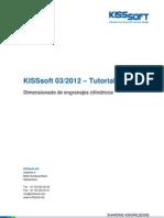 Kisssoft Tut 009 S DimensionadoFino