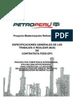 Perfil del Proyecto Modernización Refinería Talara