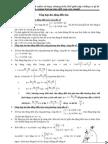 Tổng hợp dao động điều hòa vật lý 12