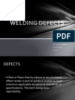 Welding Defects - Presentation