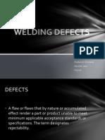Welding Defects - Presentation