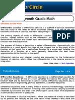 Eleventh Grade Math