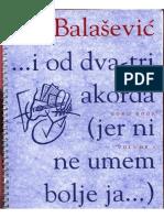 Đorđe Balašević - I od dva tri akorda