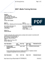 PO430037_Media Training Services