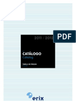 ERIX Catalogo TabelaPrecos2011 2012