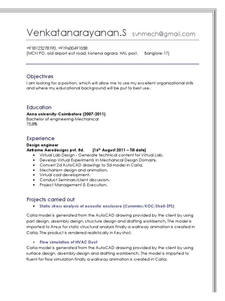 Venkata Narayanan Computer Aided Design 3 D Modeling Hvac Drawing Key
