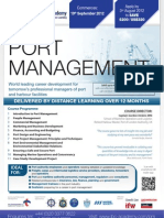 FLR2294 - Diploma in Port Management FLR2294HA101