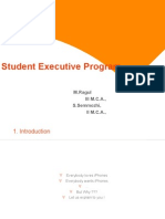 Student Executive Program RAgul