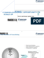 Franchising-Opportunity to Scale Up - By Francorp Srinivas