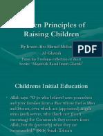 Golden Principles of Raising Children