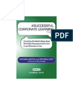 #SUCCESSFUL CORPORATE LEARNING tweet Book05