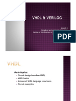Vhdl and Verilog