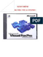 GIÁO TRÌNH QUẢN TRỊ CSDL VISUAL FOXPRO