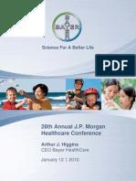 JPM Healthcare Conf Handout