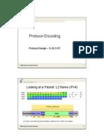 Protocol Encoding