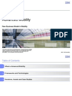 Advanced Mobility - New Buisness Model in Mobility