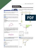 Tópicos de Física 1 - Estática dos sólidos