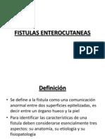 Fistulas Enterocutaneas