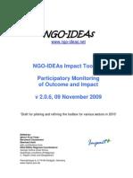 NGO-IDEAs Impact Toolbox