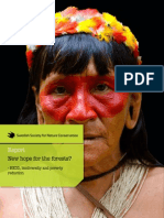 Report - New hope for the forests? - REDD, biodiversity and poverty