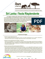 Sri Lanka l'Isola Risplendente L'Estate Continua con Press Tours