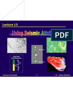Using Seismic Attributes