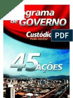 Programa Governo Custodio Eleicoes 2008