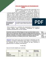 SOLUCIÓN GRÁFICA DE PROBLEMAS DE PROGRAMACIÓN LINEAL nb