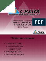 GPL GNL Theme 3 Transport Et Stockage