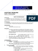 Audit of Receivables