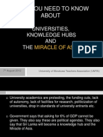 University of Moratuwa (UMTA) Save Education in Sri Lanka Slides