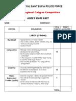 Criteria Police Kaiso 2k11
