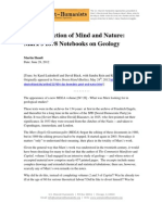 The Connection of Mind and Nature