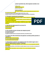 Penal General Grile Rezolvate