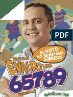 Panfleto Fortaleza Professor Evaldo Lima 65789