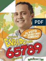 Panfleto Estádio Presidente Vargas Professor Evaldo Lima 65789